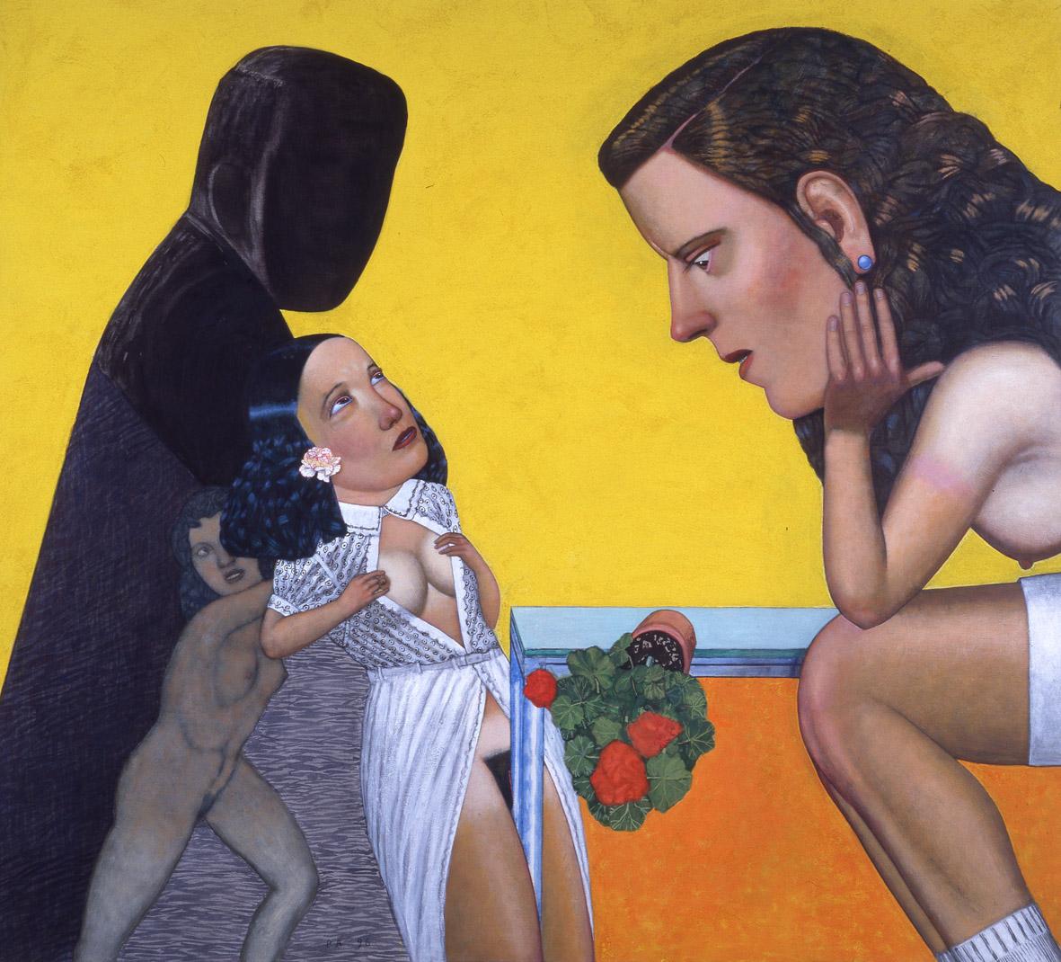 ecole-de-femmes-200x220cm-1996
